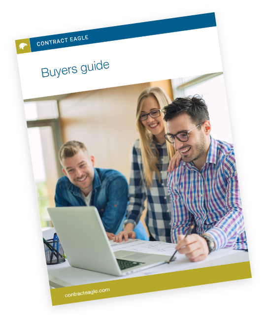 Buyers Guide for Contract Eagle's Contract Management System